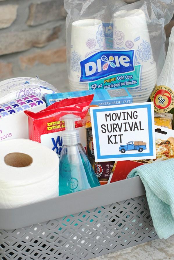 Moving Gift Basket