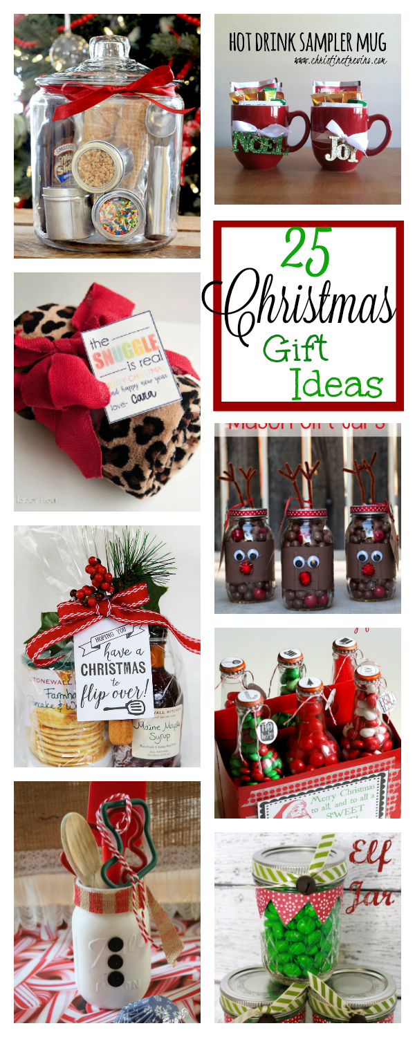 Fun Christmas Gifts for Friends, Family, Neighbors and Co-workers-These are super fun and easy Christmas gift ideas for neighbors and friends this year. You're going to love them! #christmasgiftideas #giftideas #christmasgifts