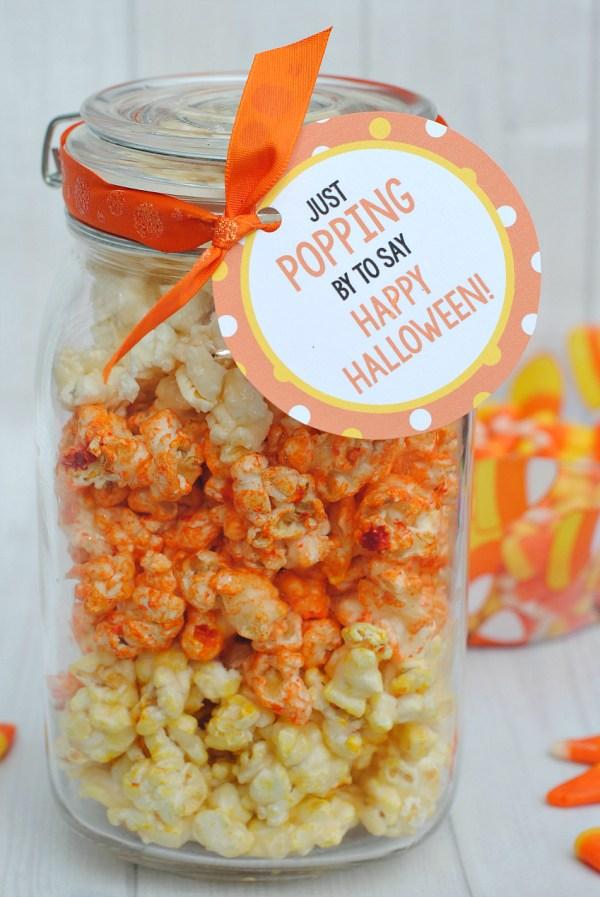 Halloween Popcorn Gift Idea