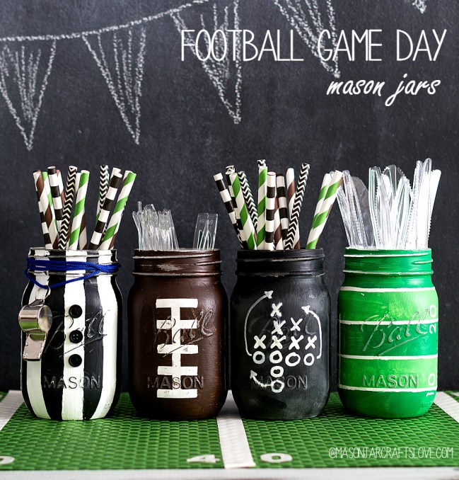 football-party-mason-jar-craft-centerpiece-table-setting-ideas-1-of-9-2