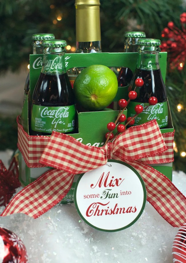 Coke Christmas Gift Idea