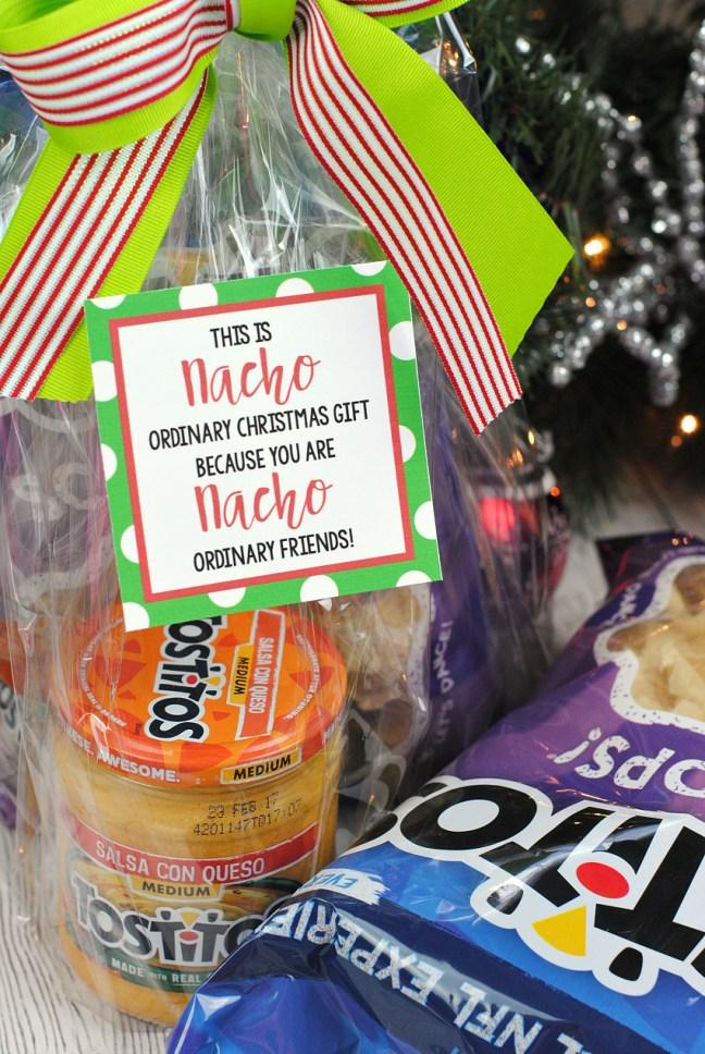 Funny Christmas Gift Ideas: Nacho Neighbor Gift