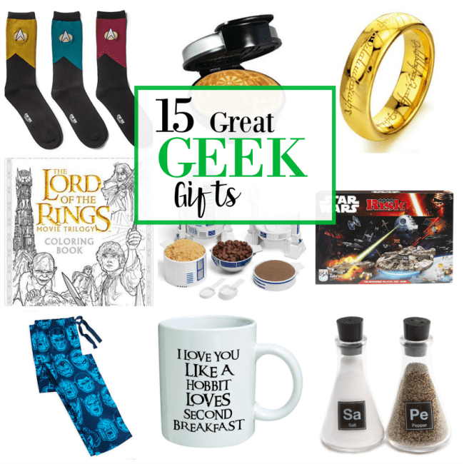 Geek Gift Ideas