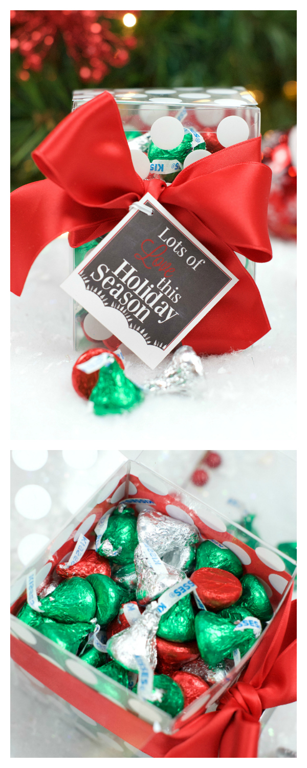 Lots of Love Neighbor Chocolate Gift Idea with Hershey's Kisses