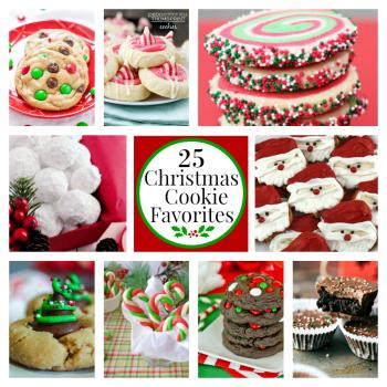 25 Fun Favorite Christmas Cookies