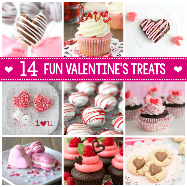 14 Valentine Treat Ideas