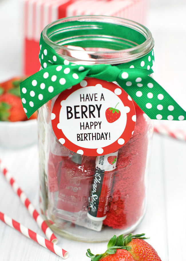 Berry Gift Idea Fun Squared