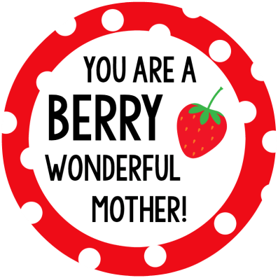 Berry Mother's Day Tag