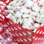 Cherry Chip Muddy Buddies for Valentine's Day