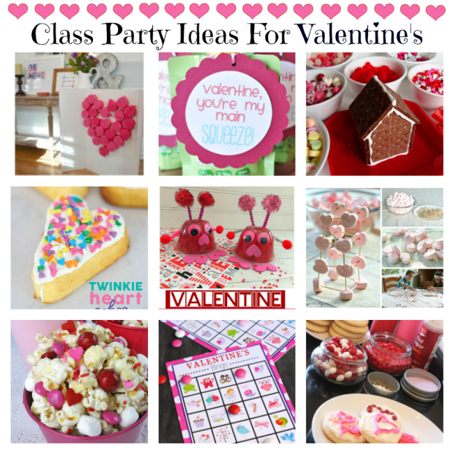 Class Valentine's Day Party Ideas
