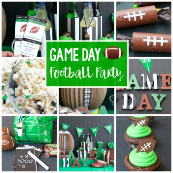 Kids Football Birthday Party Ideas