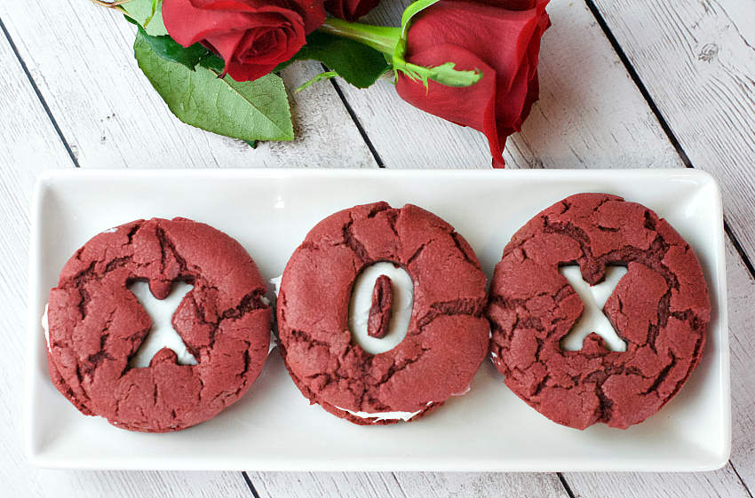 Red Velvet Whoopie Pies-A Perfect Valentine's Day Cookie Recipe