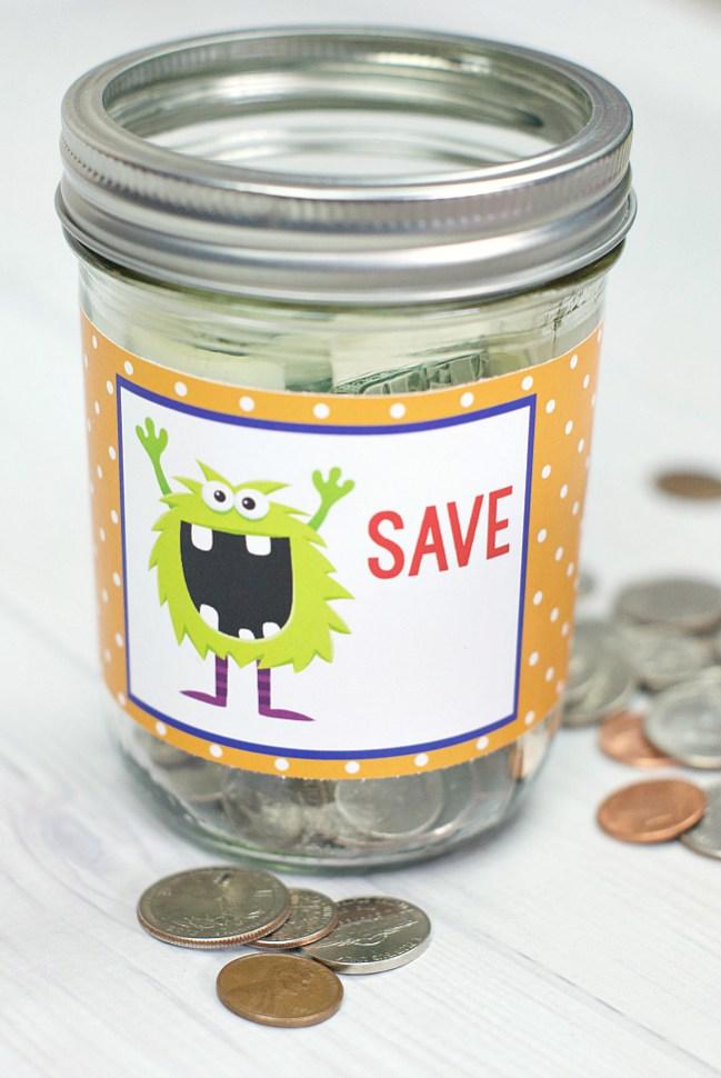 Make Your Own Kids Piggy Bank