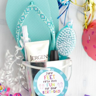 Pedicure Birthday Gift for Friends
