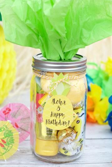 Hawaiian Themed Birthday Gift Idea