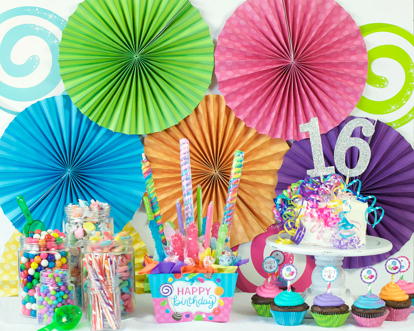 Candyland Party Ideas For Sweet 16