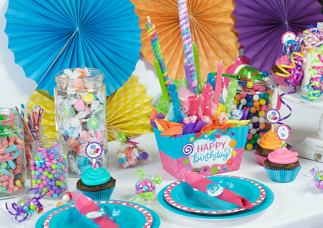 Sweet 16 Candy Birthday Party Ideas