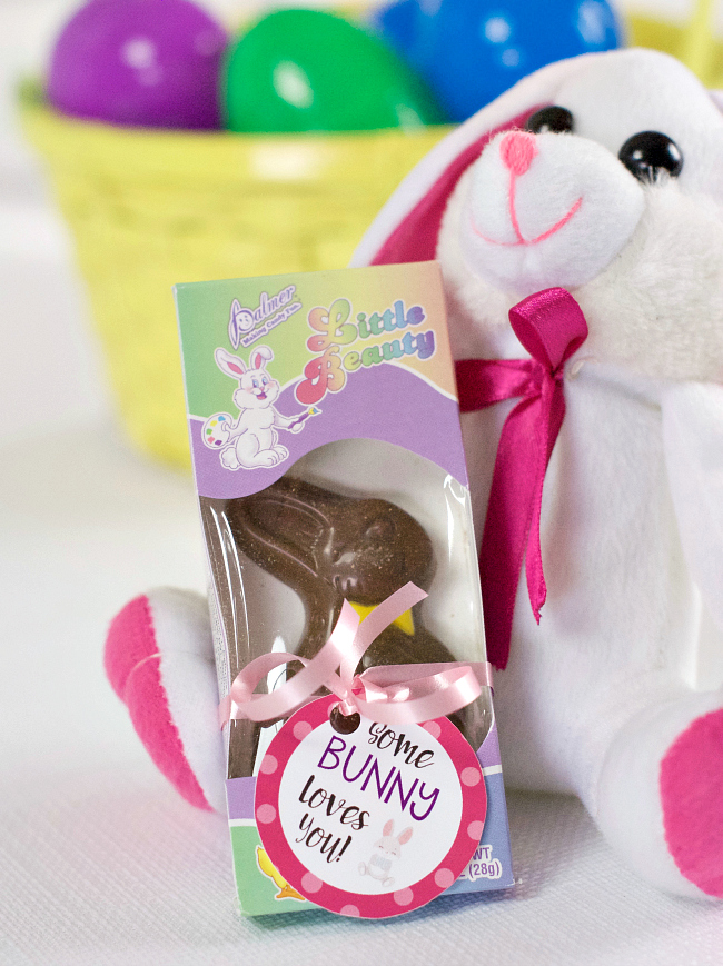Chocolate Bunny Easter Gift