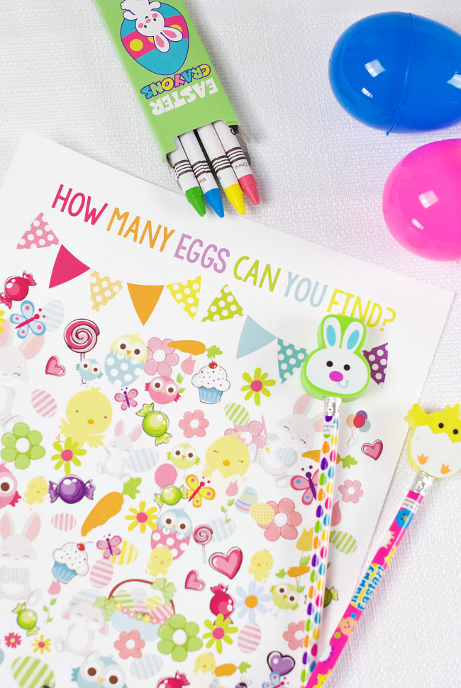 Printable Easter Egg Hunt Game for Kids