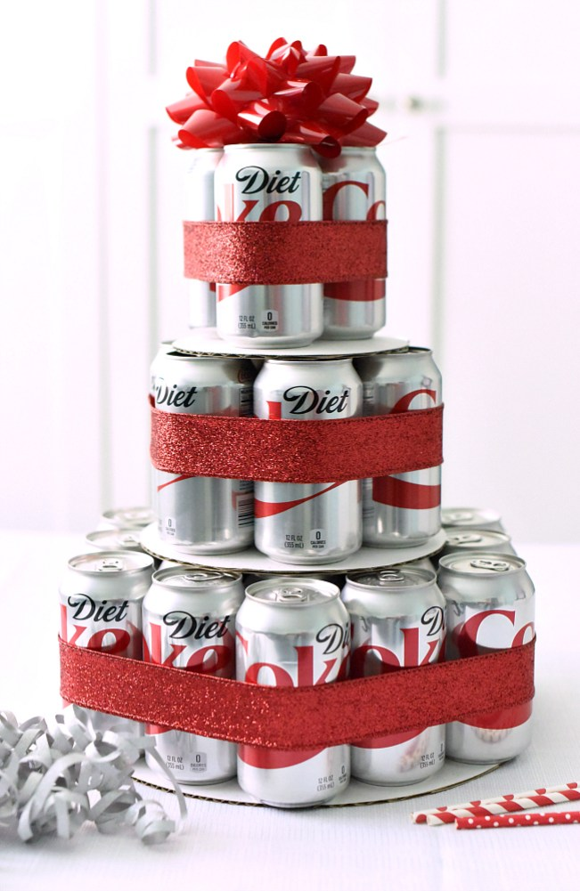 Diet Coke Birthday Gift Idea