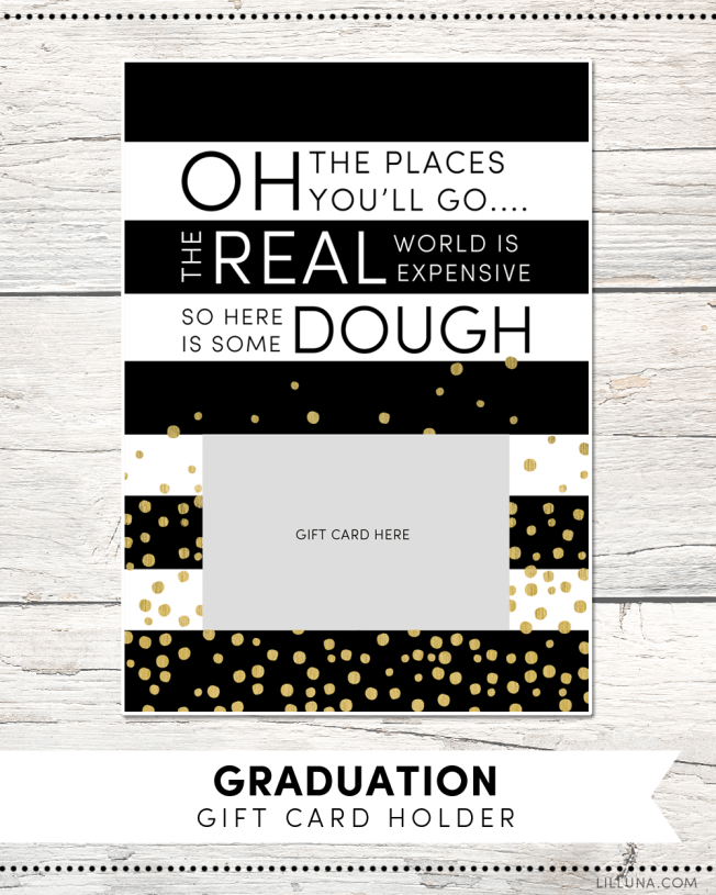 Graduation Gift Card Holders