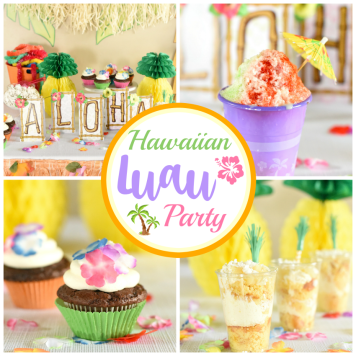 Hawaiian Luau Party Ideas