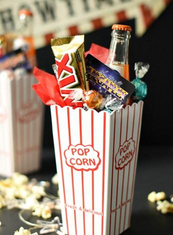 Movie Night Gift Baskets