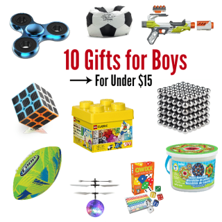 Great Birthday Gifts for Boys