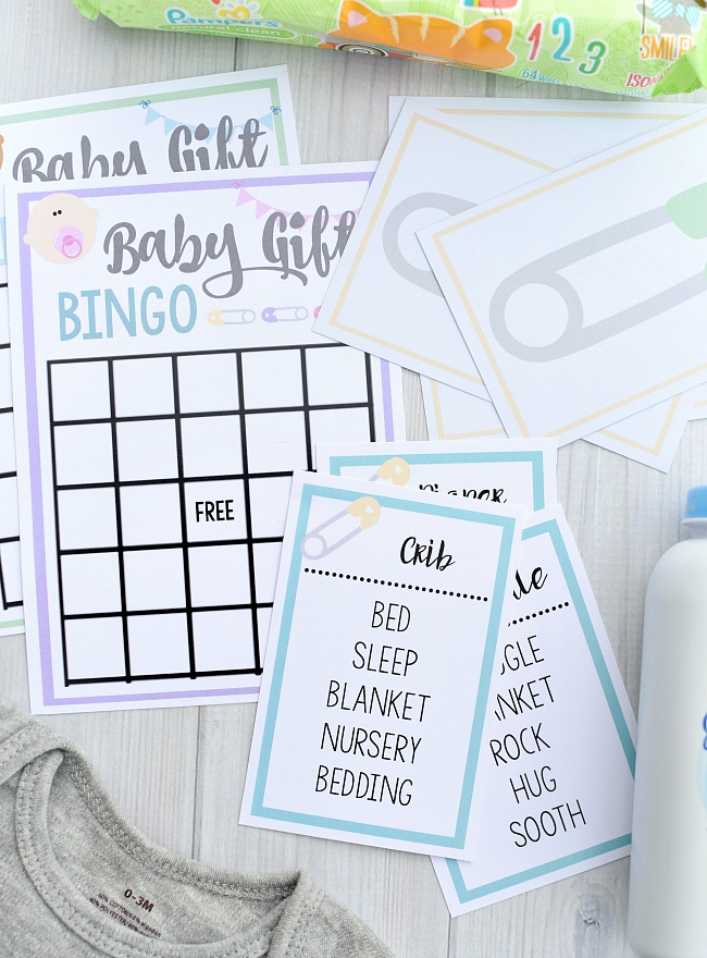 Free Printable Baby Shower Games for Large Groups