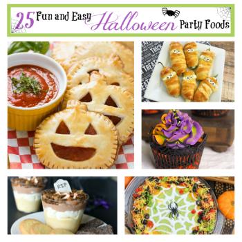 25 Fun Halloween Party Foods