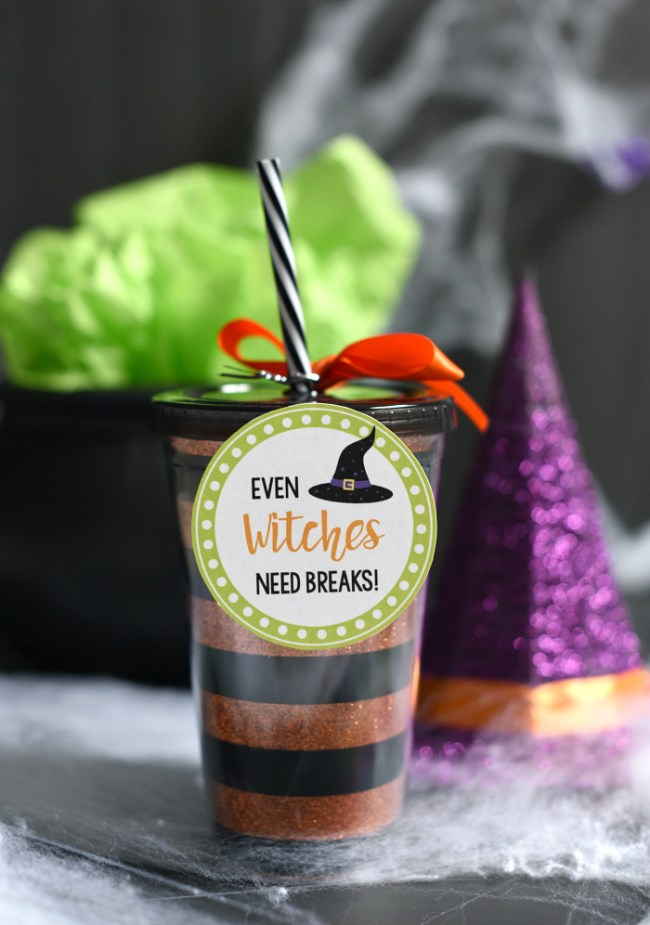 Cute Halloween Gift Witch Drink Cup
