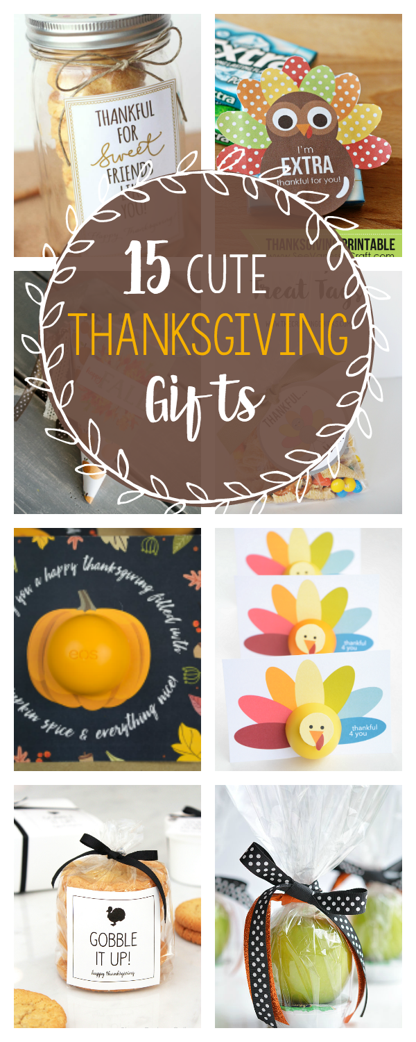 Cute and Simple Thanksgiving Gifts to Take to Friends