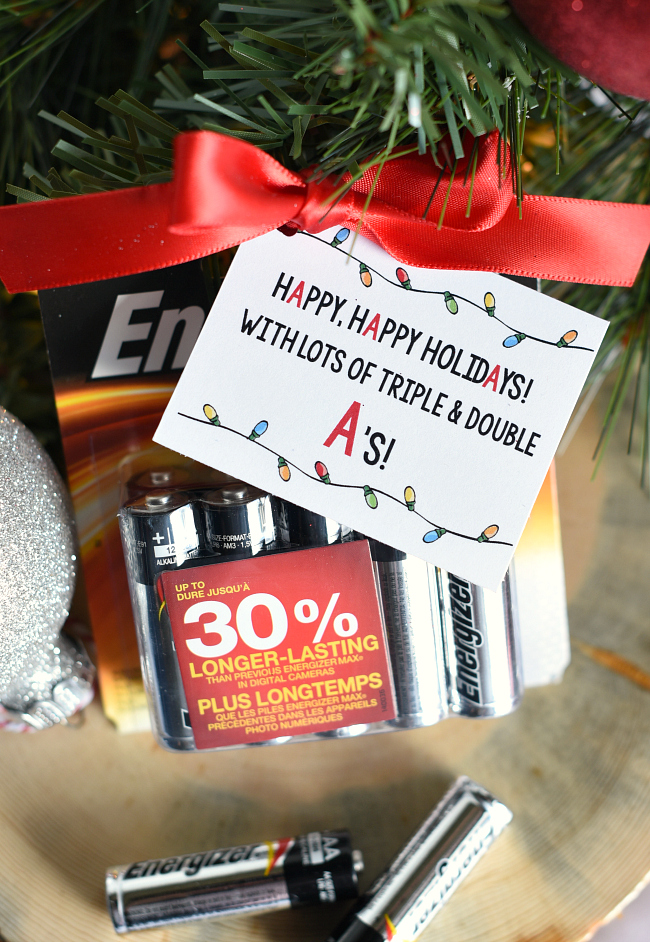 Things For Christmas.Super Simple Battery Neighbor Gift For Christmas Fun Squared