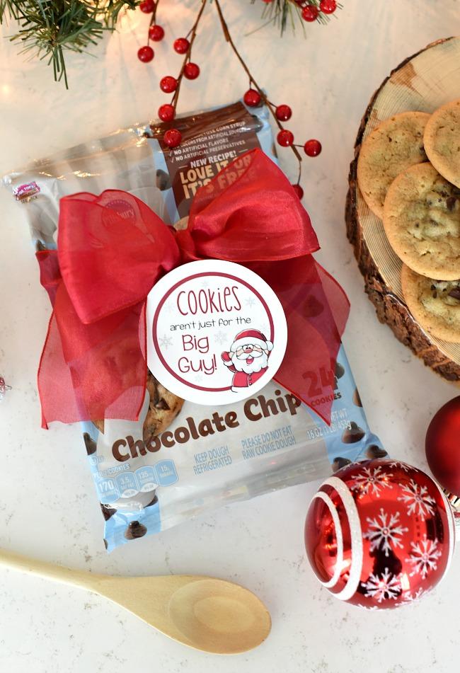 Christmas Cookie Dough Gift for Neighbors