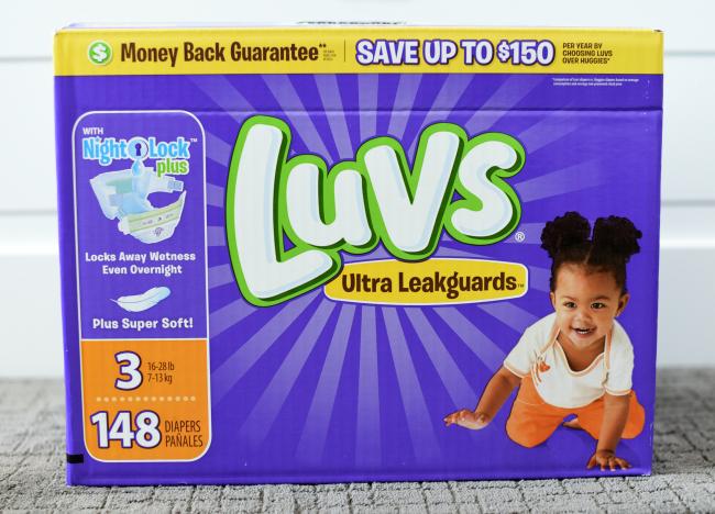 Diaper bag gift idea
