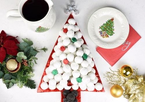 Donut Tree for Christmas