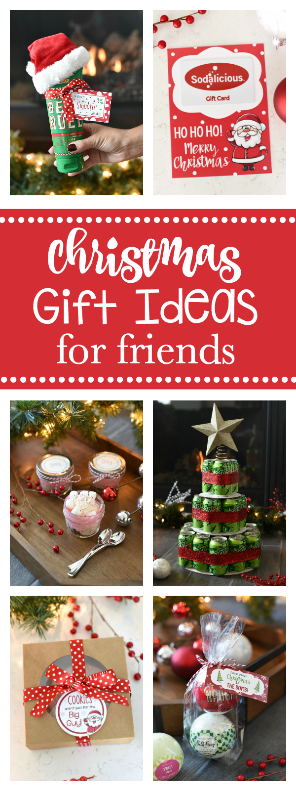 Great Gift Ideas for your Best Girlfriends or BFFs this Christmas-Things your friends will love to receive as Christmas gifts that are also easy for you to pull off! #christmas #christmasgifts