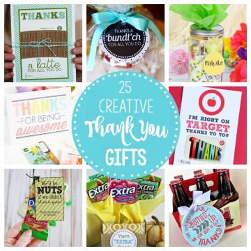 25 Creative Thank You Gift Ideas