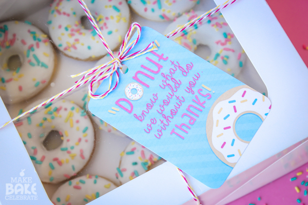 Donut Thank You Gift Ideas