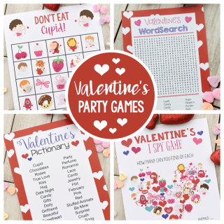 Fun Valentine Games to Print