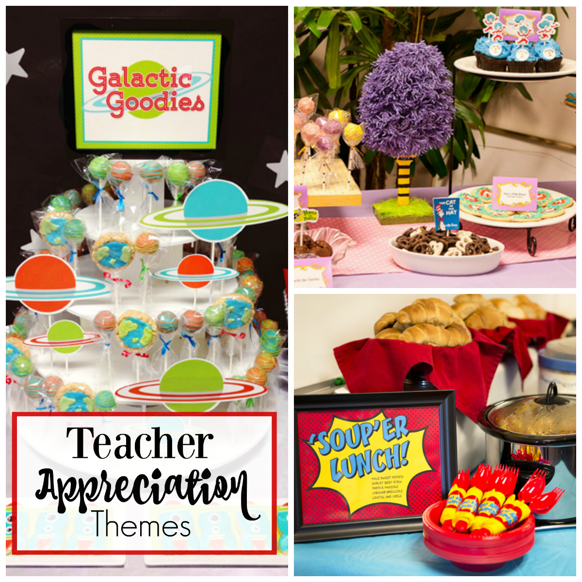 Teacher Appreciation Theme Ideas