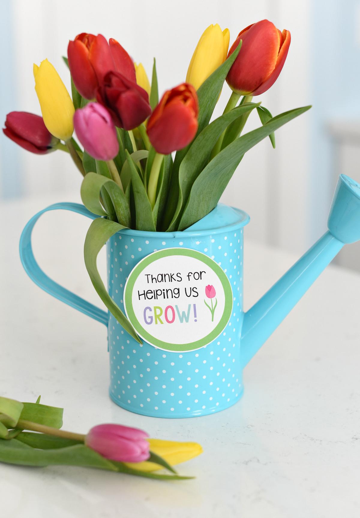 Flower Teacher Gift Idea