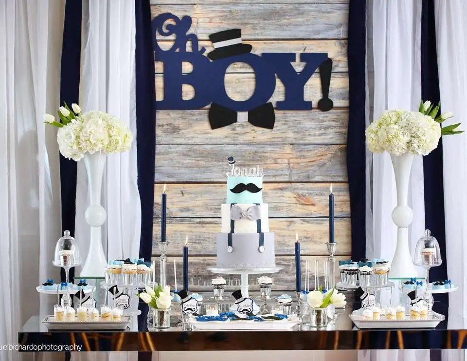 Oh Boy Baby Shower Theme