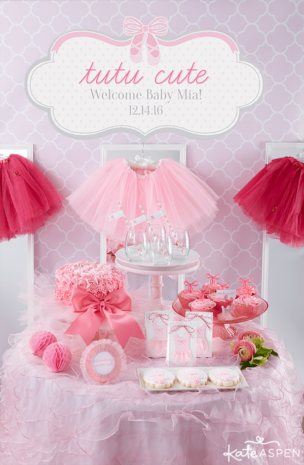 Baby Girl Shower Themes