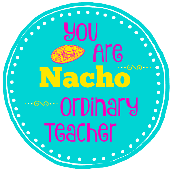 photograph about You're All That and a Bag of Chips Printable called Punny Trainer Presents: Nacho Regular Instructor Exciting-Squared