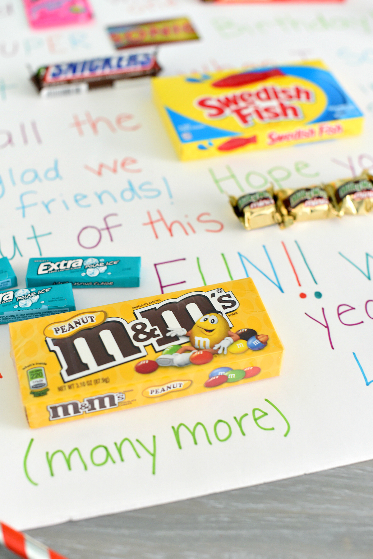 Candy Poster Sayings