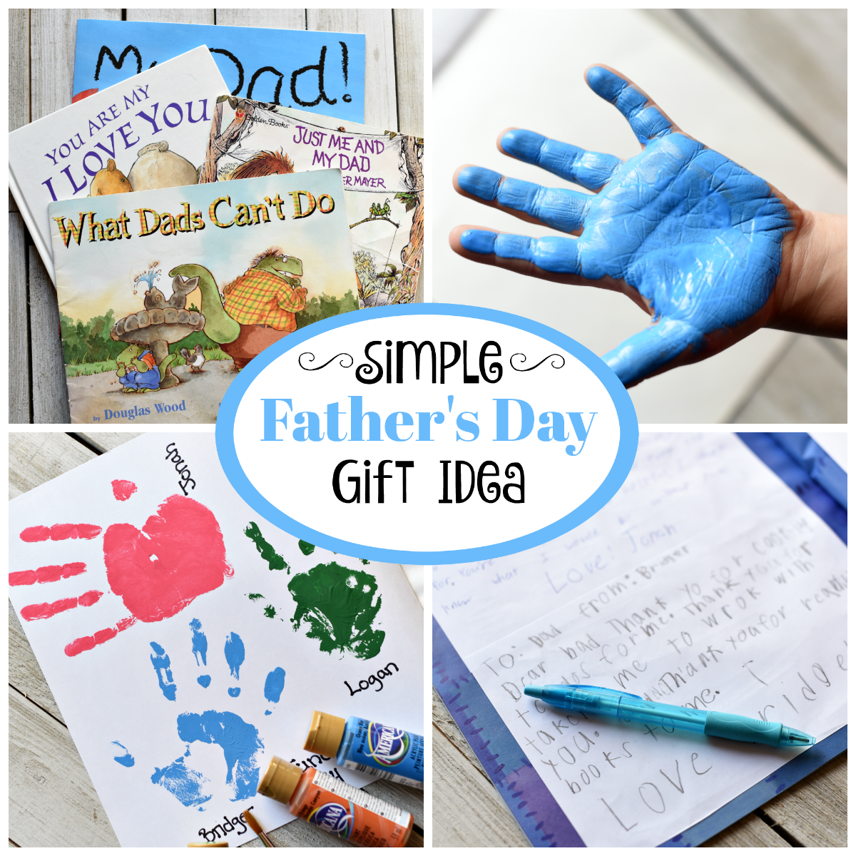 Father's Day gifts from kids