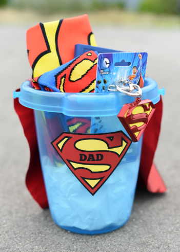 Father's Day Superhero Gift Basket