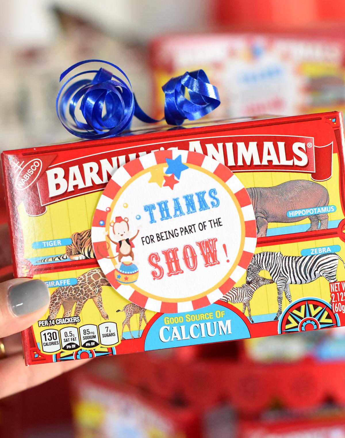 Circus Party Favor Ideas