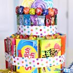 Fun Candy Cake
